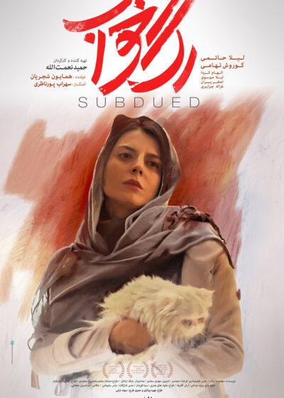 Rage Khab (Subdued) Persian Poster Design 2 Mohammad Rouholamin., فیلم سینمایی رگ خواب،