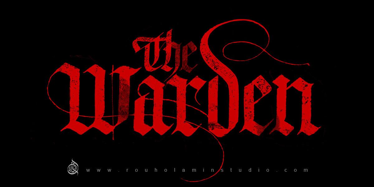 The Warden English Logo Design