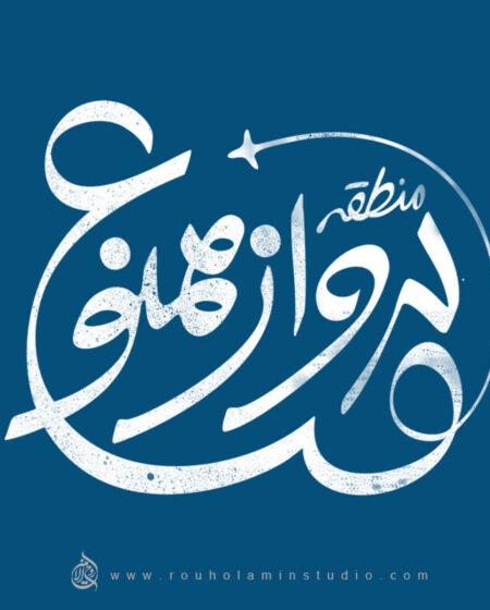 No_Fly Zone Logo Design Mohammad Rouholamin